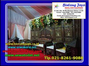 Penyewaan Pelaminan Dan Tenda Pernikahan Dan Khitanan di Jakarta