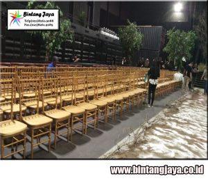 Sewa kursi tifany gold murah di Depok