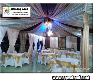 Jasa Sewa Tenda paket Pernikahan hemat murah