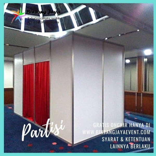 Sewa Partisi R8 Jakarta Murah Event Tertib