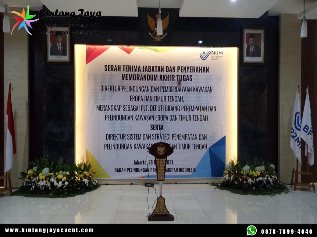 Sewa Backdrop Event Kualitas Premium Rangka Terbaru Jabodetabek